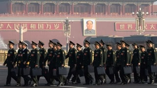China steigert Militärausgaben deutlich