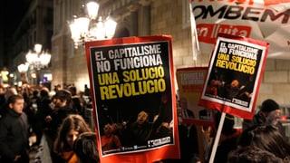 Neue Protestwelle in Spanien gegen Sparmassnahmen