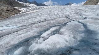 Der Neuschnee bremst auch die Gletscherschmelze.