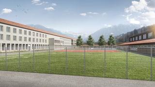 Gefängnisneubau in Realta beginnt