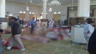 Mindestens 235 Tote nach Angriff auf Moschee im Sinai