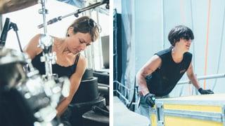Diese Frauen machen den härtesten Job am Gurtenfestival