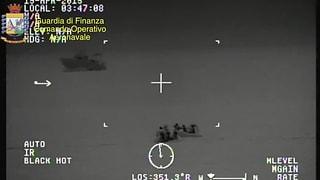 Nagins resultats suenter tschertga nocturna en la Mar mediterrana