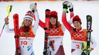 Gisin ist Olympiasiegerin – Holdener holt Bronze!