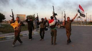 Kampf gegen IS: «Meilenstein ist noch nicht ganz erreicht»