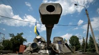 Ukrainische Armee intensiviert Offensive gegen Separatisten
