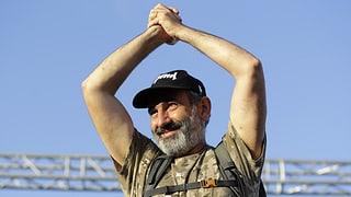 Paschinjan ist neuer armenischer Regierungschef