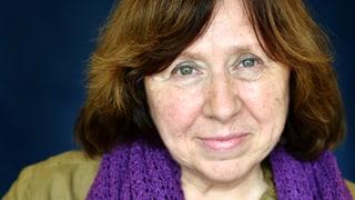 Ein politisches Zeichen: Nobelpreis für Swetlana Alexijewitsch