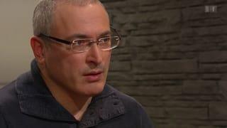 Chodorkowski preist sich als Übergangspräsident Russlands an