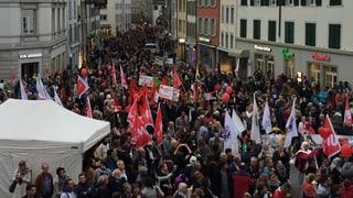«Aufstand der Anständigen» in Aarau