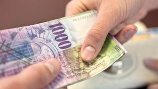 Finanzausgleich: Die Geberkantone machen gemeinsam Front