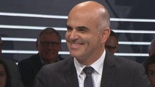 Video ««Präsidialarena» mit Alain Berset» abspielen