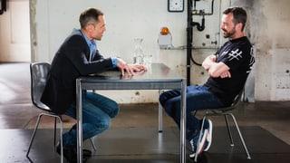 «Mein Sohn ist ein Punk» – Matthias Hüppi trifft Rapper Greis  (Artikel enthält Video)