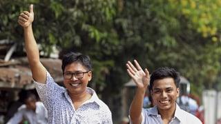 Burma lässt Reuters-Journalisten frei