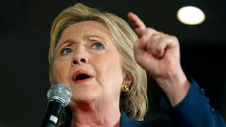 Clinton schiesst scharf