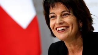 Ein Tessiner Bundesrat zur Verkleinerung der Distanz zwischen der Südschweiz und Bundesbern sei nicht notwendig, sagt Bundespräsidentin Doris Leuthard.