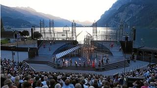 2000 Zuschauer am Walensee-Musical