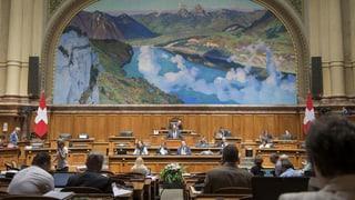 Im September wollte der Nationalrat den Kantonen noch freie Hand lassen
