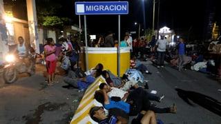 Chaos und Gewalt an der Grenze zu Mexiko