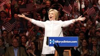 Hillary Clintons historischer Weg