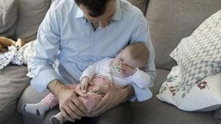 Ständeratskommission will zweiwöchigen Vaterschaftsurlaub