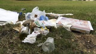 Wie viel Plastik in der Umwelt landet