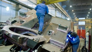 Exportà material da guerra per 224 milliuns francs