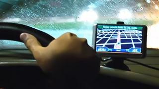Navigationsgerät explodiert während der Fahrt