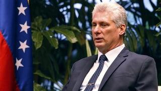 Kubas Präsident sieht Verhältnis zu USA «im Niedergang»