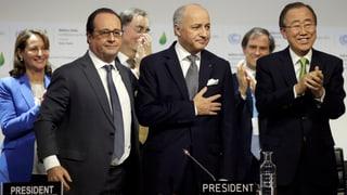 Staatengemeinschaft einigt sich auf Weltklimaabkommen