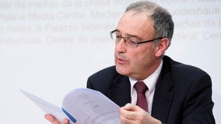 Guy Parmelin desistiss d'in gudogn eventual