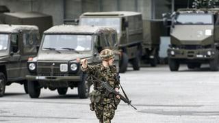 Parlament winkt Rüstungsprogramm durch