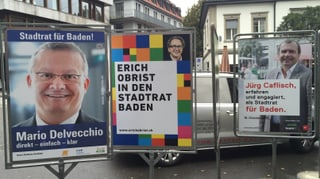 Kampfwahl um Badener Stadtratssitz