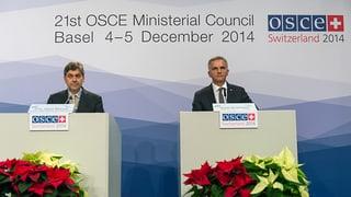 Diplomatisches Experiment bei der OSZE: Zwei Länder im Vorsitz