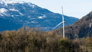 Windkraft: Leitlinien für neue Projekte in Graubünden
