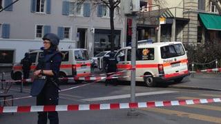 Überfall auf die Post an der Rämistrasse in Zürich