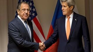 Kerry und Lawrow geben Syrien-Gesprächen Hoffnung