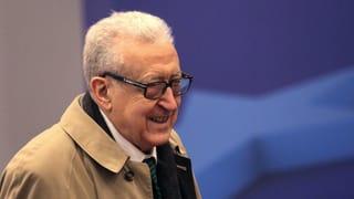 Syrien-Vermittler Brahimi bleibt doch