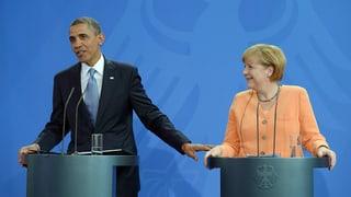 #Neuland: Wie die Kanzlerin Obama kurz die Show stahl