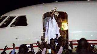 Jammeh leerte vor dem Abflug die Staatskassen