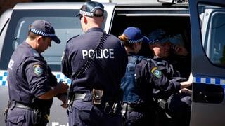 In Australien herrscht Terror-Hysterie