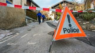 Bluttat im Wallis: Mann erschiesst 3 Menschen