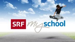 SRF my School Reihe «Berufsbilder aus der Schweiz»