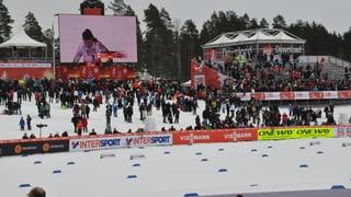 Falun - Ils sprinters dattan l'entschatta