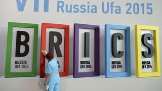 Brics-Staaten erhöhen Druck auf den Westen