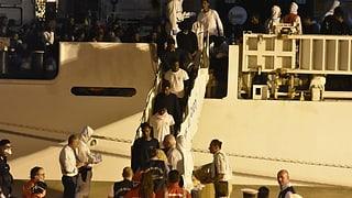 Migrants han pudì bandunar il bastiment «Diciotti»