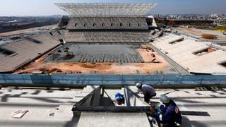 Zwei Tote bei Unfall auf WM-Baustelle in Sao Paulo