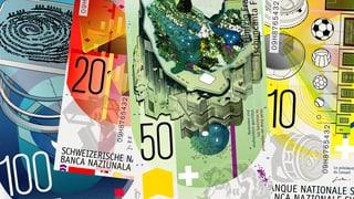 Die Ausschreibung zur Gestaltung der neuen Banknotenserie hatte eigentlich Grafiker Martin Woodtli gewonnen.
