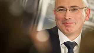 Chodorkowski will die Schweiz besuchen