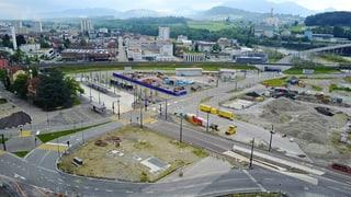 Seetalplatz: Definitive Verkehrsführung kann eingeführt werden